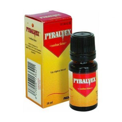 Pyralvex (10mL), 10:50 mg:mL x 1 sol bucal frasco